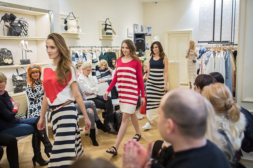 Pokaz mody dla marki TWIN-SET z Joanną Horodyńską