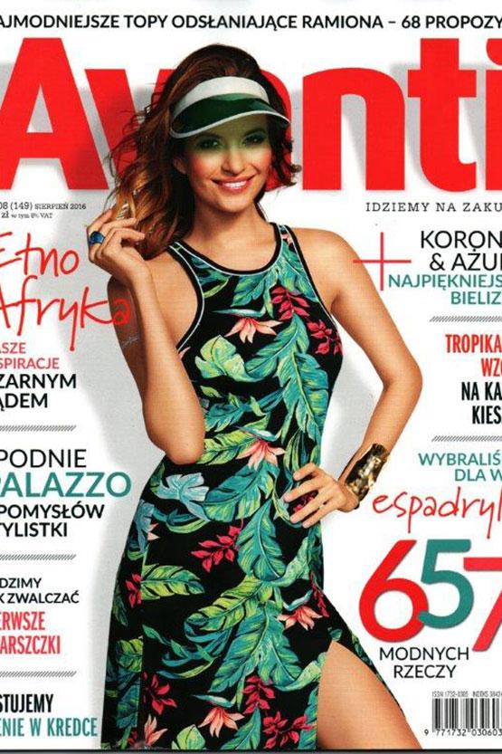 Agnieszka makijażystką okładkowej sesji Avanti