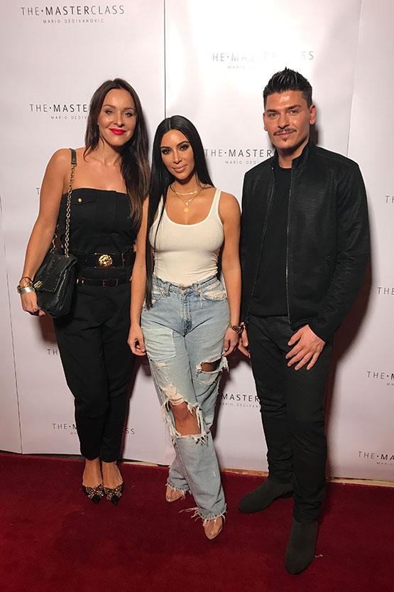 Agnieszka Broda na warsztatach Mario Dedivanovic & Kim Kardashian